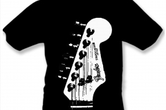 tričko návrh 1 Fender kopie